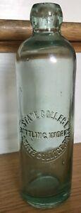 Vintage State College PA Hutch Soda Bottle Hutchinson