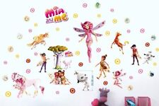 Mia and Me 3D Wandtattoo Wandaufkleber Kinder Decoration wall stickers 70X35cmX2