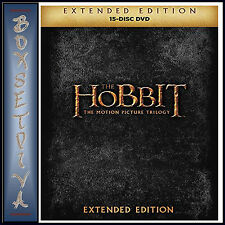 The Hobbit Motion Picture Trilogy - Extended Editions *Brand New Dvd Boxset*