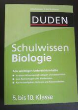 Schulwissen Biologie (5.-10. Klasse) vom Duden Schulbuchverlag