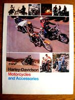 1975 Harley-Davidson Motorcycles Accessory Accessories Brochure 75 Original Xlnt