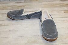 + NEW! Sorel Tremblant Moccasin Slippers - Women's Size 12, Dark Fog