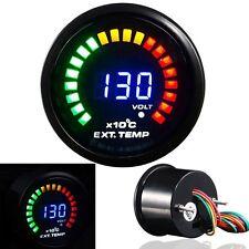 "Digital LED LCD Exhaust GAS Temp Gauge Auto Car EGT Temperature Gauge 2"" (52mm)"