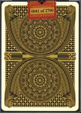 CPC 100th Deck Design Playing Cards Limited Edition (sub #50 of 2700) RARE USPCC
