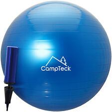 Ballon Suisse de Gym 65cm Ballon Exercice avec Pompe pour Fitness Yoga Pilâtes
