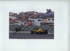 Robert sumar Jordan EJ14 brasileño Grand Prix 2004 Firmado fotografía 1