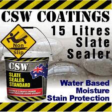 15L Slate Sealer - Moisture Stain Protection - Non Slip - Water Based