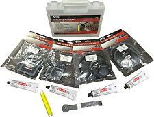 Extensive Tyre & Tube Puncture Repair Kit - Universal, Tube and Radial Repais