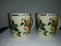 Sakura Oneida Sonama Excell Mugs Set of 2