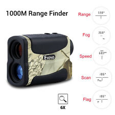 1000M Telescope Laser Range Finder Waterproof Measure Hunt Distance Speed Meter