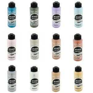 """Metallische Acrylfarbe Multisurface """"120ML"""" auf Wasserbasis für alle Oberflächen"""