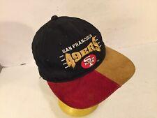 San Francisco 49ers Suede Bill Snapback Cap Hat Drew Pearson DP