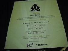 BOOKER T. and the MG's Willie Mitchell IRMA THOMAS Knox Phillips 2007 Promo Ad