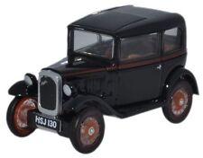 Oxford 76ASS005 Austin Seven Saloon Black 1/76 Scale = 00 Gauge in Case T48 Post