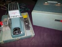 Vintage ARGUS 300 Automatic 35mm Slide Changer Projector Turns On