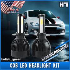 H7 4-Sides LED Headlight High Low Beam for Mercedes Benz C CLK CLS E M R S SLK
