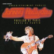 """CD """" Johnny Hallyday"""" Pabellón de Paris 1979"""" NUEVO EN BLÍSTER"""
