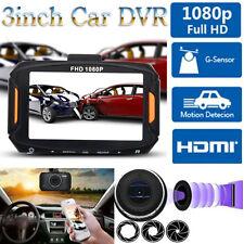 Full HD 1080P 3inch LCD Car DVR Camera Car Video Camcorder Dash Cam Night Vision