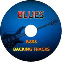 BLUES BASS GUITAR BACKING TRACKS CD JAM PLAY ALONG MUSIC BEST OF IN THE STYLE OF