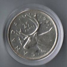 1947 Canada 25 Cents VF+