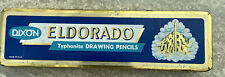 Vintage Dixon Eldorado Typhonite Drawing Pencils And Tin Blaisdeil Charcoal