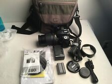 Nikon D90 12.3MP Digital SLR Camera w/ 18-105mm VR Lens + case