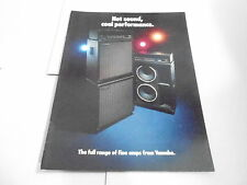 VINTAGE MUSICAL INSTRUMENT CATALOG #10364 - 1980s YAMAHA AMPS