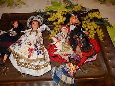lot de poupées folklo celluloid années 50 a 60