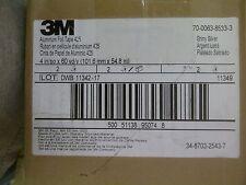 "3M Aluminum Foil Tape, 425 Silver, 4"" x 60 yd 4.6 mil, 2 rolls/case"
