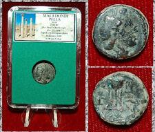 Ancient GREEK Coin MACEDONIA PELLA Head Of Apollo On Obverse Tripod On Reverse