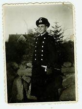Deutsches Reich 2. Weltkrieg Foto Offizier Marine mit Dolch