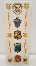 Harry Potter Temporary Tattoo Hogwarts Ravenclaw Hufflepuff Slytherin Gryffindor