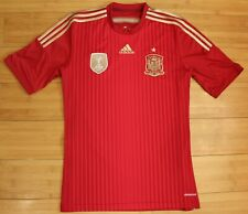 SPAIN 2014/2015 HOME FOOTBALL SOCCER SHIRT JERSEY MAGLIA ADIDAS TRIKOT