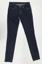 """EUC RRP $289 Womens Stunning ksubi tsubi """"SUPER SKINNY ZIP' Jeans W24 L33"""