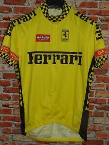 Bike Cycling Jersey Shirt Maillot Cyclism Sport Ferrari Size XXL