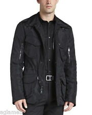 $995 Ralph Lauren Black Label Military Escape cargo Jacket coat SLIM XL Italy