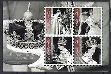 Gibraltar 2003 Coronation Queen Elizabeth II 50th Anniv MNH S/S SC 927a CV $8.00