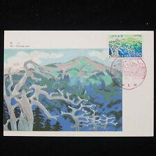 ZG-C973 JAPAN - Maximum Card, Mt Tsurugi San Cover