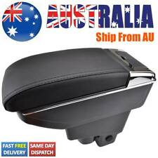 For Honda Fit Jazz 2002-2008 Dual Console Leather Armrest Central Console Box