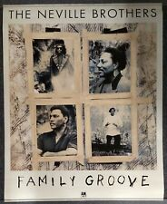 The Neville Brothers Family Groove 1992 Promo Poster