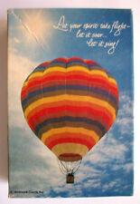 Let Your Spirit Take Flight hot air rainbow  ballon  Springbok mini puzzle
