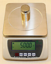 10,000 x 0.1 GRAM DIGITAL SCALE BALANCE ANALYTICAL PHARMACY COMPOUNDING LAB NEW