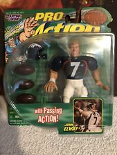 Vintage Starting Lineup PRO Action NFL Football Denver Broncos John Elway MOC