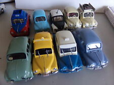 voiture miniature 1/43  ELIGOR NOREV SOLIDO             LOTS RENAULT 4 CV