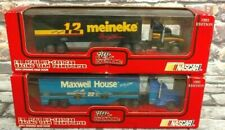 Racing Champions 1993 Edition 1:87 Transporter Lot of 2 Maxwell House, Meineke