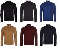 Mens Pierre Cardin Zip Neck Knitted Jumper Sweater Jersey S M L XL XXL 3XL 4XL