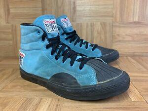 Vintage🔥 Vision Street Wear Skateboarding Shoes Blue Black Gum Made in Korea 9