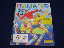 Panini Album WM World Cup 1990 Italia 90, komplett/complete, ordentlich/ok cond.