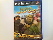 Shrek: Smash ET Crash Course Pour Sony Playstation 2 (neuf et scellé)