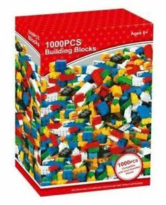 1000pcs Building Blocks Kids Classic Creative Diy Coloured Bricks Creative Toy
